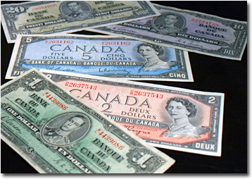 Paper Money | Hobby | Collection | Watermark | Regina, SK | KC Coins